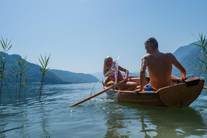 Fotograf Faaker See im Sommer in Kärnten / Urlaub Werbung Region Villach